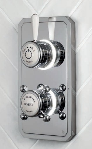 Душевой термостат на 1 выпуск Digital TK12 (душ-душ)
